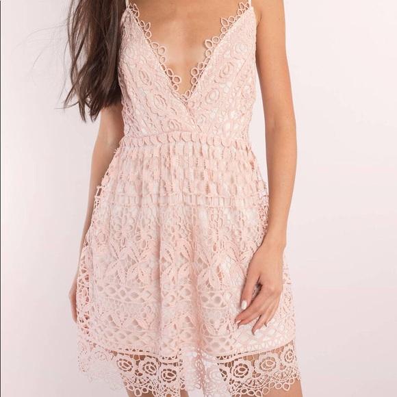Tobi Dresses & Skirts - 🌟✨⭐️💕TOBI ROSE SKATER DRESS NWT💕⭐️✨🌟